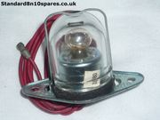 Standard Companion Pennant 6cwt & 7cwt Lucas Number Plate Lamp